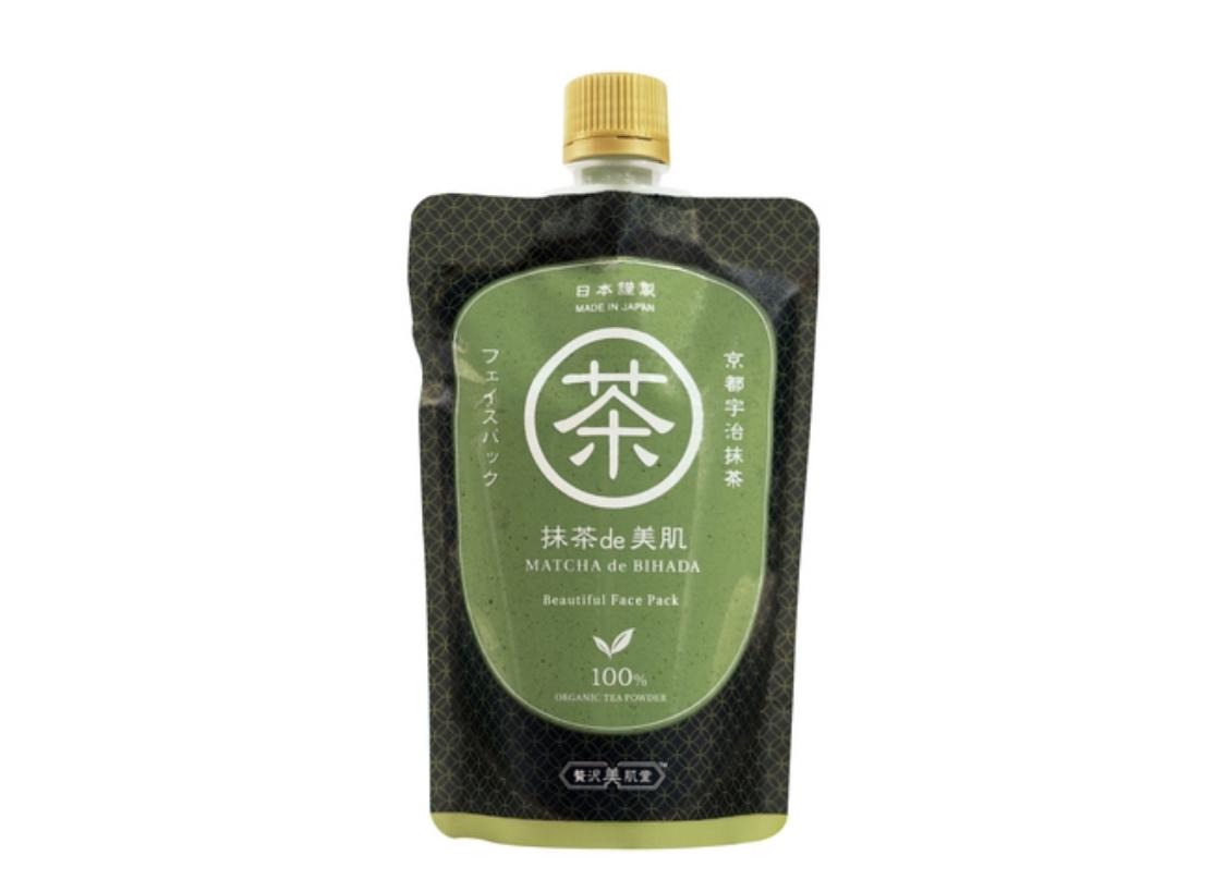 「贅沢美肌堂」から日本のスーパーフード抹茶を使用した洗い流すフェイスパック 「抹茶de美肌」が誕生!