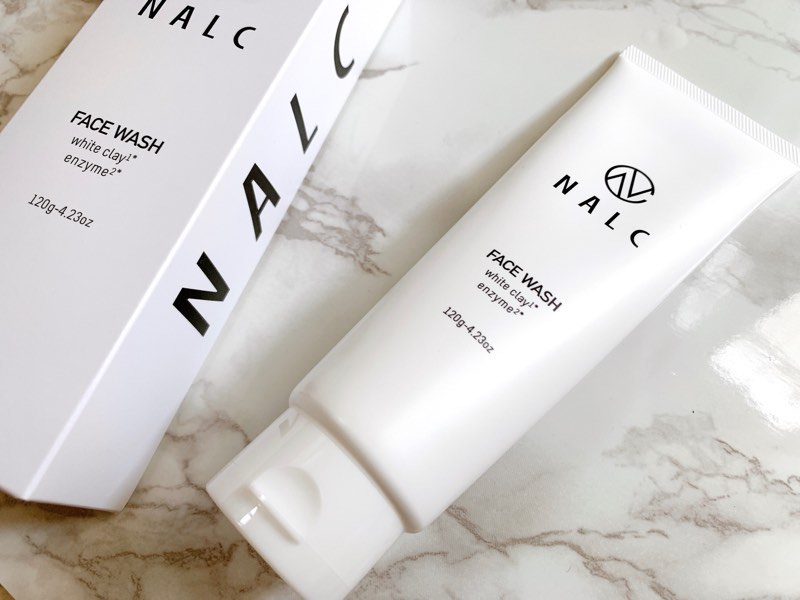 NALCの『ホワイトクレイ酵素配合洗顔フォーム』でツルスベ肌に!